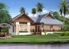 Mẫu nhà biệt thự mái Thái chất lượng tại Phú Thọ