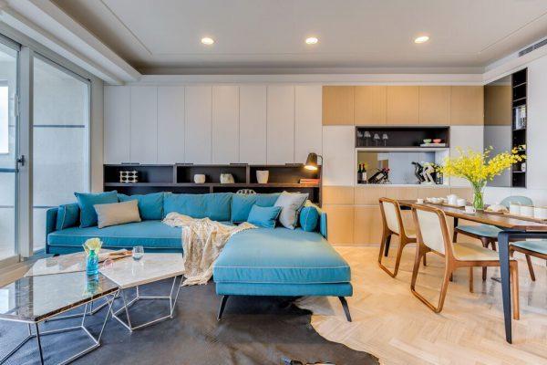 Thiết kế nội thất cực đẹp cho phòng bếp chung cư hiện đại