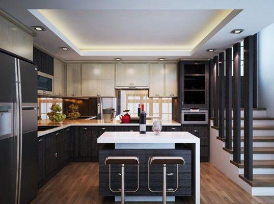 Nhà bếp với thiết kế thông minh