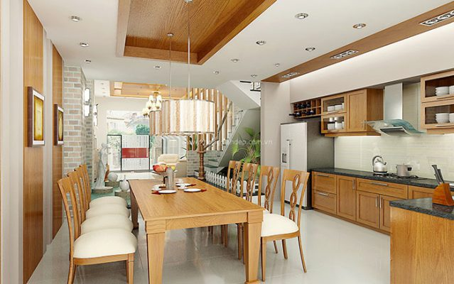 Nhà bếp thiết kế đơn giản