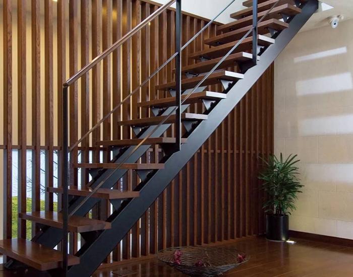Những mẫu cầu thang cho nhà nhỏ hẹp tiết kiệm diện tích