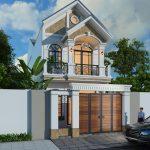 Mẫu nhà 2 tầng 5x15m đẹp mê ly tại Phú Thọ