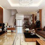 Thiết kế nội thất nhà 2 tầng cho gia đình trẻ có 4 thành viên.