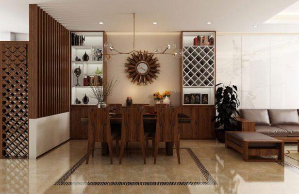 Nội thất gỗ cho các không gian nhà 2 tầng