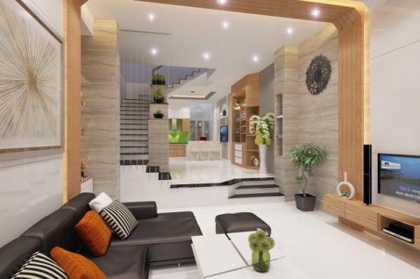 Nội thất nhà 2 tầng hiện đại sang trọng