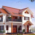 Thiết kế nhà 2 tầng mái ngói đẹp ngây ngất tại Phú Thọ