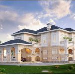 Thiết kế nhà 2 tầng phong cách Châu Âu sang trọng nhất hiện nay.