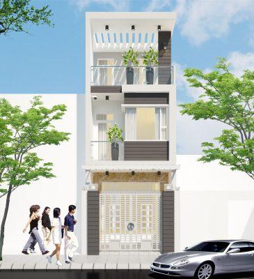 Mẫu nhà 3 tầng tại nông thôn chi phí 800 triệu