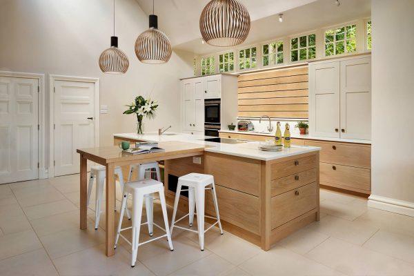 Phòng bếp phong cách thiết kế hiện đại và mộc mạc