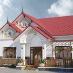 Thiết kế nhà cấp 4 truyền thống ấn tượng tại Phú Thọ