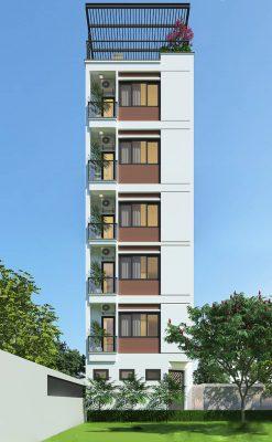 Thiết kế nhà cho thuê hiện đại tại Vĩnh Phúc