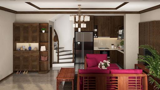 Thiết kế nội thất cho nhà ống 100m2 đầy tiện nghi và hiện đại
