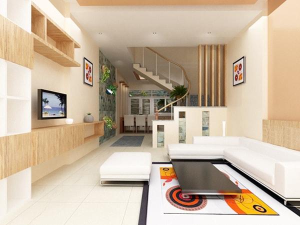 Thiết kế nội thất cho mẫu nhà ống 50m2 hiện đại và tiện dụng