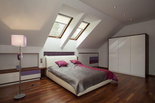 Phòng ngủ có thiết kế độc lạ