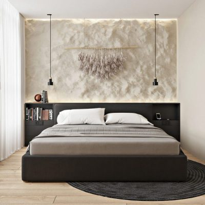 Phòng ngủ nhỏ giản dị, đơn giản