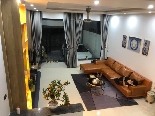Thiết kế nhà mặt phố 2 tầng tuyệt đẹp tại Phú Thọ