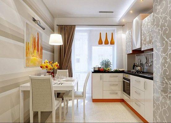 Bếp ăn nhỏ cho chung cư hiện đại