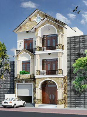 Ưu điểm của  nhà 3 tầng mái Thái