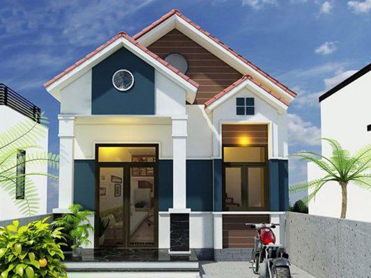 Thiết kế nhà cấp 4 mái Thái