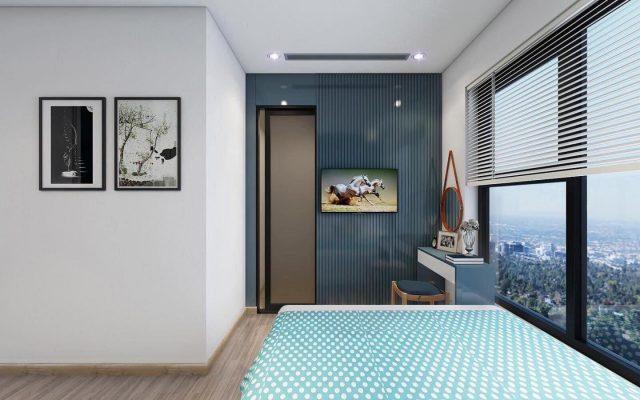 Nội thất phòng ngủ lớn hiện đại