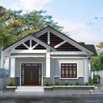 Thiết kế nhà 1 tầng giá rẻ tại Phú Thọ