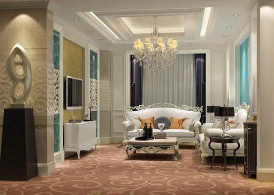 Mẫu chung cư thiết kế nội thất cổ điển