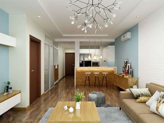 Thiết kế nội thất chung cư đẹp,hiện đại tại Phú Thọ