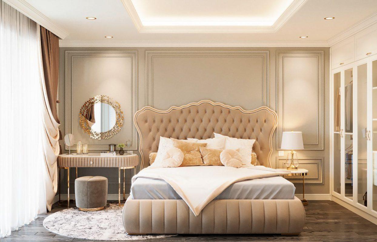 Phòng ngủ gam màu tươi sáng