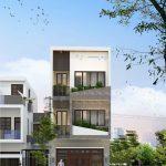 Nhà phố hiện đại 3 tầng 1 tum Anh Dũng Cầu Giấy – Hà Nội