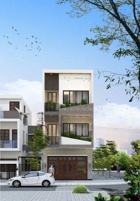Nhà phố hiện đại 3 tầng 1 tum Anh Dũng Cầu Giấy - Hà Nội