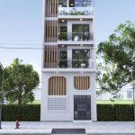 Nhà phố hiện đại diện tích 50m2 Anh Lâm Sóc Sơn – Hà Nội