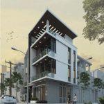 Thiết kế nhà phố 3 tầng hiện đại anh Giang – Hà Nội