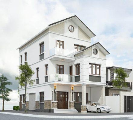 Nhà phố mái thái anh Phan tại Từ Sơn - Bắc Ninh