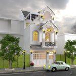 Thiết kế nhà phố theo phong cách Châu Âu anh Hùng tại Hưng Yên