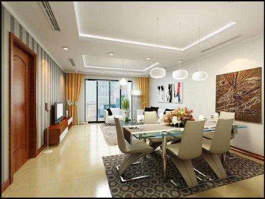 Mẫu thiết kế thi công nội thất chung cư hiện đại