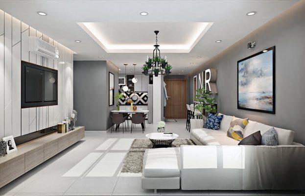 Mẫu thiết kế thi công nội thất nhà phố