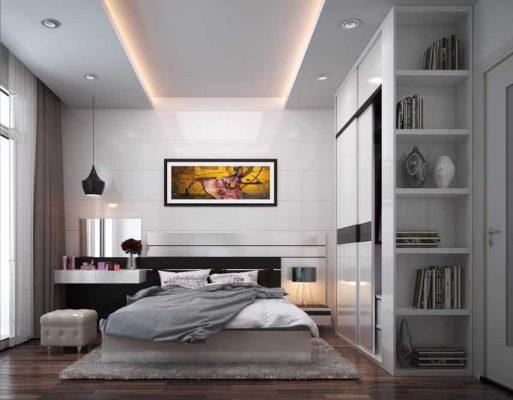 Nội thất phòng ngủ hiện đại 10m2