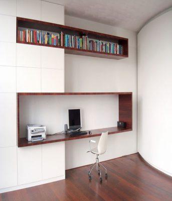 Phòng làm việc đơn giản, gọn nhẹ