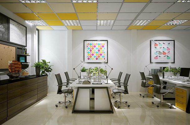 Thiết kế thi công nội thất văn phòng tại Phú Thọ