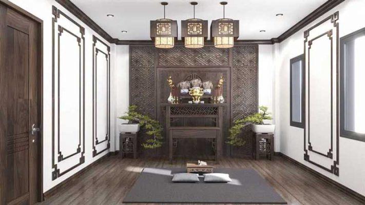 Thiết kế nội thất nhà phố chị Dung Thanh Trì Hà Nội