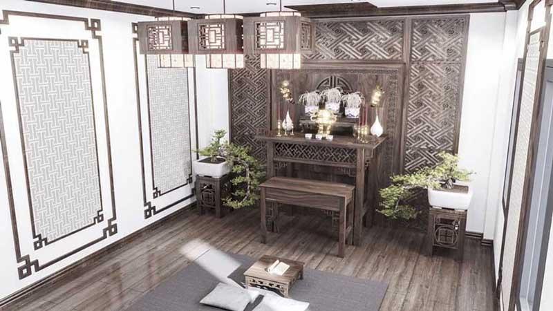 Mẫu thiết kế nội thất nhà phố của chị Dung Thanh Trì Hà Nội
