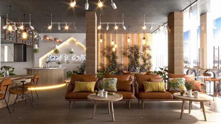 Thiết kế nội thất quán cà phê anh Được Hà Đông Hà Nội
