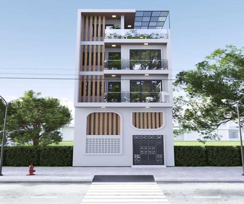 Mẫu nhà phố Thiết kế tại Sóc Sơn Hà Nội