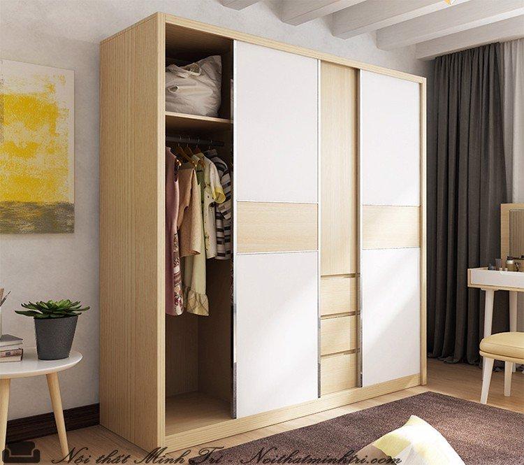 Các loại tủ quần áo phổ biến hiện nay