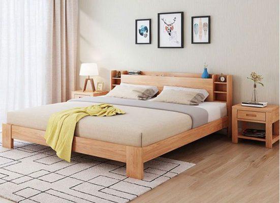 Giường ngủ MDF đơn giản