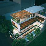 Hoàn thiện thiết kế thi công nhà phố hiện đại 12x18m