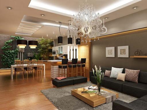 Nội thất gỗ công nghiệp cho phòng khách
