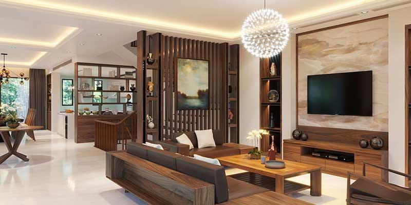 Bán đồ gỗ công nghiệp nội thất phòng khách tại Vĩnh Phúc