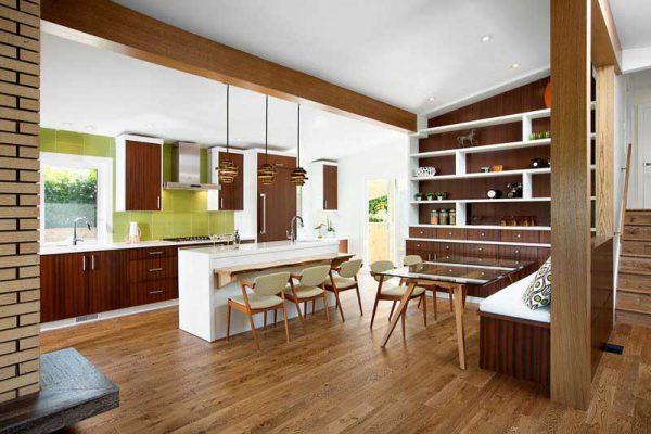Nội thất gỗ công nghiệp cho phòng bếp tại Vĩnh Phúc