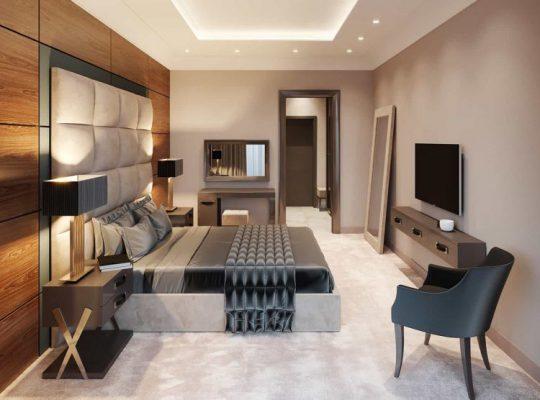 Nội thất giường ngủ gỗ công nghiệp